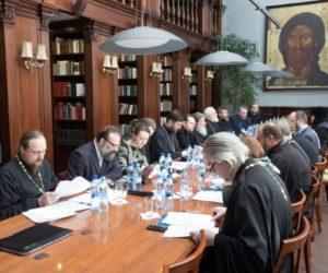 В Сретенском монастыре состоялось очередное заседание Комиссии Межсоборного присутствия по вопросам общественной жизни, культуры, науки и информации