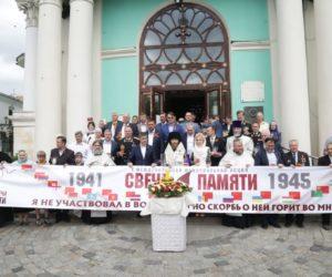В Богоявленском соборе почтили память погибших в Великой Отечественной войне