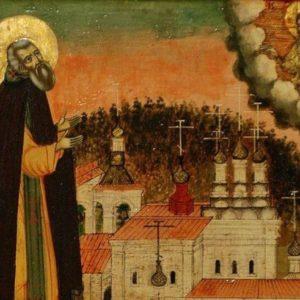 Святой преподобный Нил Столобенский