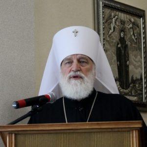 Приветственное слово Патриаршего Экзарха всея Беларуси к участникам монашеской конференции «Организация внутренней жизни монастырей»