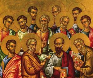 13 июля—день памяти Апостолов