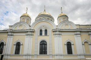 22 июля Святейший Патриарх Московский и всея Руси Кирилл совершит Божественную литургию в Преображенском соборе бывшего Никитского монастыря города Каширы