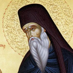 27 июля—память преподобного Никодима Святогорца