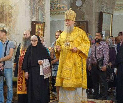 Всенощное бдение накануне праздника св.равноапостольного кн.Владимира и 1030-летия Крещения Руси в храме св.Ирины.