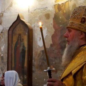 В НЕДЕЛЮ 6-Ю ПО ПЯТИДЕСЯТНИЦЕ АРХИЕПИСКОП ДИМИТРИЙ ВОЗГЛАВИЛ БОЖЕСТВЕННУЮ ЛИТУРГИЮ В ХРАМЕ СВЯТОЙ ИРИНЫ.