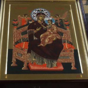 Празднование чудотворной иконе Божией Матери «Всецарица» («Пантанасса»)