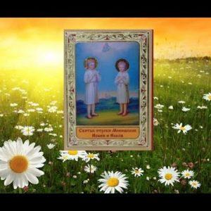 День памяти праведных отроков Иакова и Иоанна Менюжских