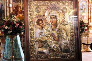 25 июля—празднование иконе Божией Матери «Троеручица»