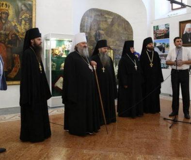 В Киево-Печерской лавре открылась выставка «Дом Пресвятой Богородицы»