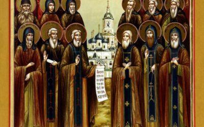 19 июля—празднование Собору Радонежских святых