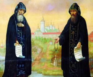 11 июля. Основатели Валаамской обители преподобные Сергий и Герман