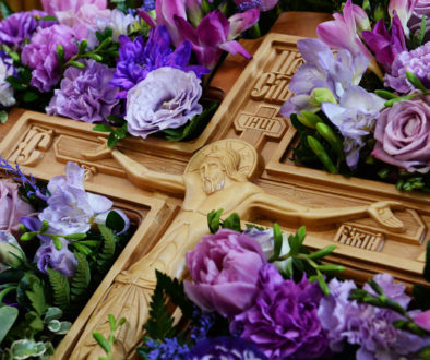 14 августа. Происхождение Честных Древ Креста Господня