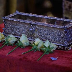 Расписание пребывания мощей святителя Спиридона Тримифунтского в России