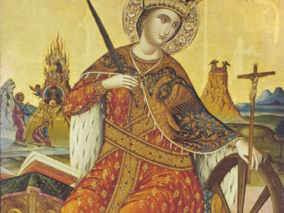 Дорогие братья и сестры! По вторникам в 17.00 (если нет всенощного бдения) в нашем храме--акафист св.великомученице Екатерине.
