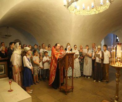 В Новоспасском монастыре состоялся молебен о здравии страждущих гемофилией