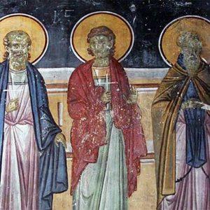 День памяти священномучеников Ермолая, Ермиппа и Ермократа, иереев Никомидийских (ок. 305)
