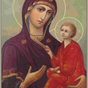 Празднование Нарвской иконе Божией Матери