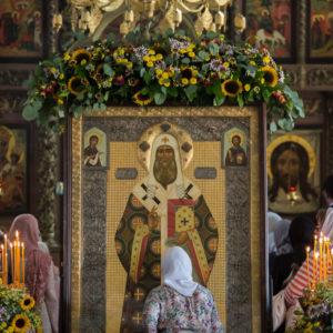 Высоко-Петровский монастырь молитвенно отметил престольный праздник