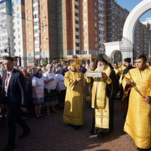 Ковчег с десницей святителя Спиридона Тримифунтского принесен в подмосковный Подольск