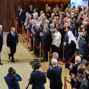 Святейший Патриарх Кирилл присутствовал на инаугурации мэра Москвы