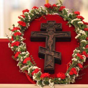 Слово на день Воздвижения Честного и Животворящего Креста Господня. Святой праведный Иоанн Кронштадтский