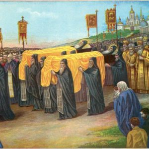 Празднование перенесения мощей преподобных Сергия и Германа, Валаамских чудотворцев