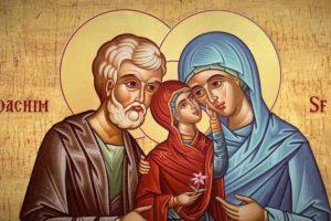 Слово в день памяти святых праведных Богоотец Иоакима и Анны