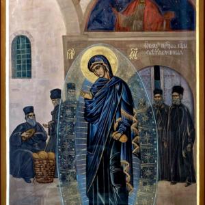 Явление Светописанного образа Пресвятой Богородицы в Русском на Афоне Свято-Пантелеимонове монастыре