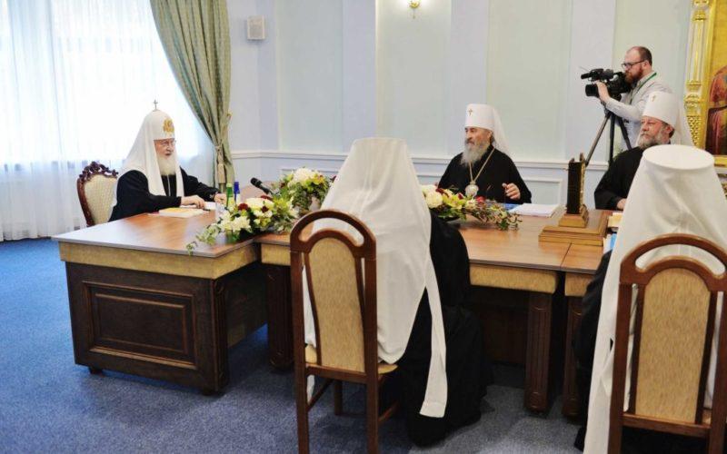 Заявление Священного Синода Русской Православной Церкви в связи с посягательством Константинопольского Патриархата на каноническую территорию Русской Церкви
