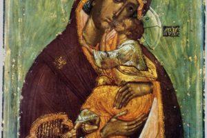 Празднование Словенской иконе Божией Матери