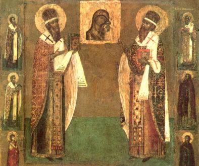 Обретение мощей святителя Гурия, архиепископа Казанского, и Варсонофия, епископа Тверского