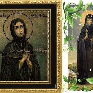 День памяти преподобной Евфросинии (в миру Феодулии) Суздальской