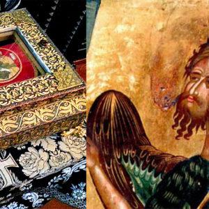 В БРЕСТСКУЮ ЕПАРХИЮ ПРИБЫЛ КОВЧЕГ С ДЕСНИЦЕЙ СВЯТОГО ИОАННА КРЕСТИТЕЛЯ