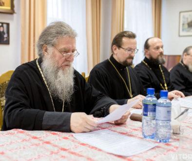 Духовенство и миряне Витебской епархии выражают поддержку решений, принятых Священным Синодом в связи с антиканоническими действиями Константинопольского Патриархата