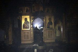 В Москве совершен поджог еще одного деревянного храма