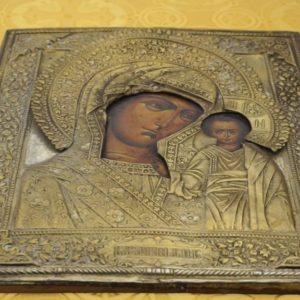 Всенощное бдение накануне празднования Казанской иконы Божией Матери в храме св.Ирины