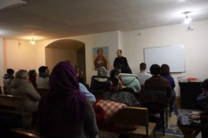 Начались занятия в школе трезвости в храме св.Ирины