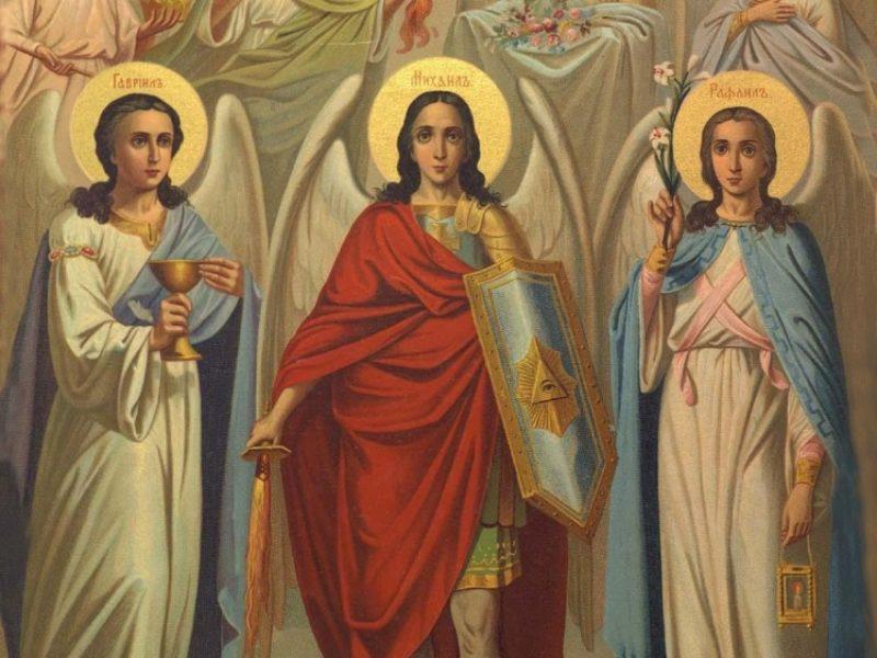 21 ноября в праздник Собора Архангела Михаила и всех небесных сил бесплотных в храме св.Ирины будут отслужены две Божественные литургии: в 7.00 и в 10.00