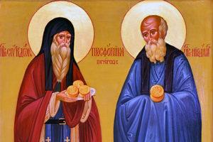 13 ноября. Преподобные Спиридон и Никодим