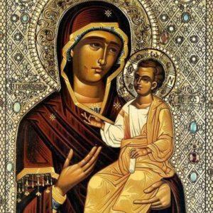 Празднование иконе Богородицы Иверской Монреальской, Мироточивой