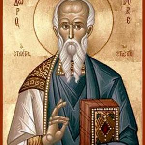 День памяти преподобного Феодора Студита, игумена, исповедника