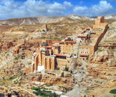 Православные святыни мира. Иорданская пустыня. Лавра Саввы Освященного
