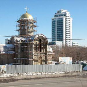 ЗА ВОСЕМЬ ЛЕТ В МОСКВЕ ПОСТРОЕНО 85 ПРАВОСЛАВНЫХ ХРАМОВ