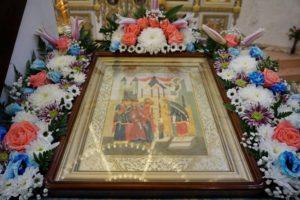Праздник Введения во Храм Пресвятой Богородицы в храме св.Ирины