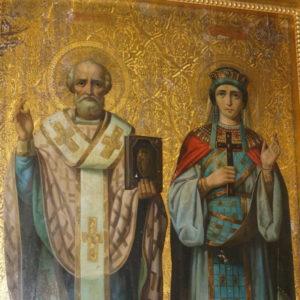 Накануне дня памяти святителя Николая Чудотворца архиепископ Димитрий возглавил всенощное бдение в храме св.Ирины