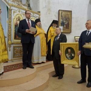 Архиепископ Димитрий возглавил Божественную литургию и молебен в честь 65-летия Великой Княгини Марии Владимировны Романовой