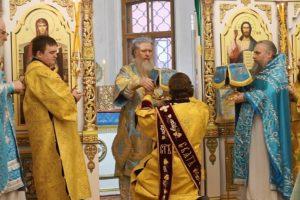 Архиепископ Димитрий возглавил Божественную литургию в день памяти св.великомученицы Екатерины