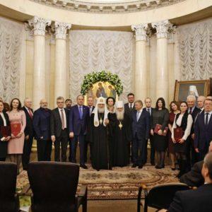 Святейший Патриарх Кирилл возглавил церемонию вручения Макариевских премий в области естественных наук за 2018 год