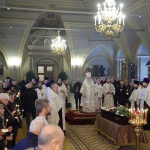 В Новодевичьем монастыре состоялось отпевание заместителя председателя ИППО Н.Н. Лисового