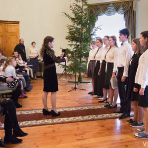 В Витебской духовной семинарии прошел рождественский праздник воскресных школ